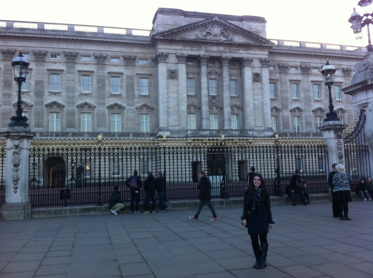 The ACTUAL Buckingham Palace!