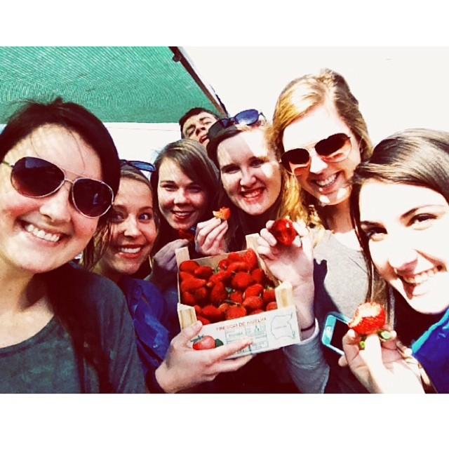 Fresones: extra large fresas, strawberries!