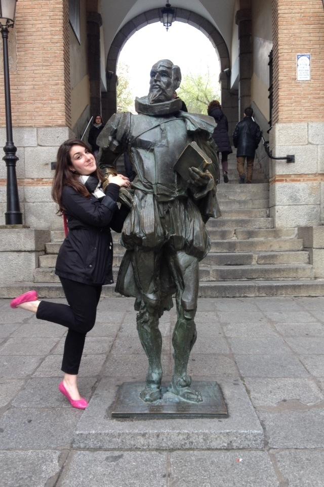Cervantes and I