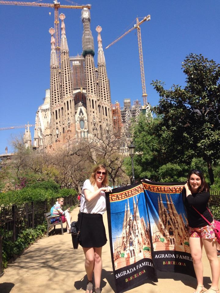 Accidental Barcelona trip and fabulous new beach towels to show off!