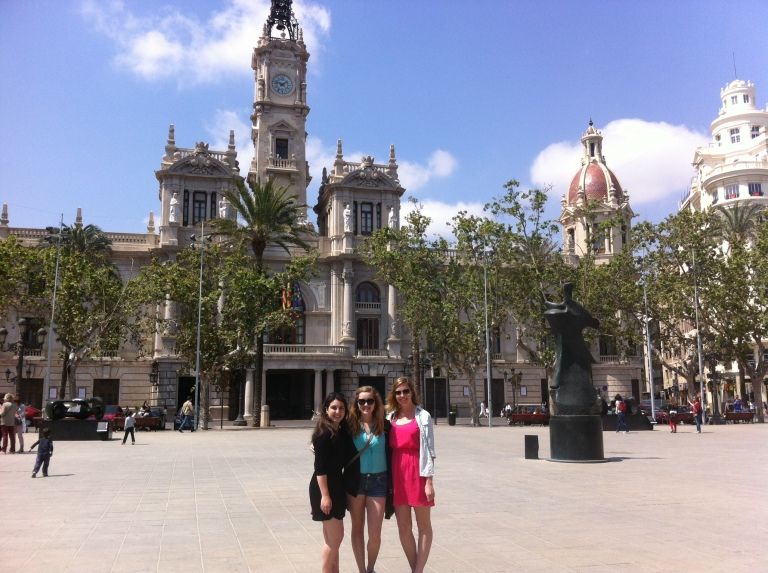 Exploring Valencia for the day!