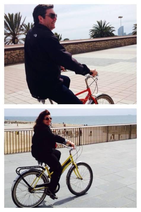 Fat Tire Bike Tour Barcelona!