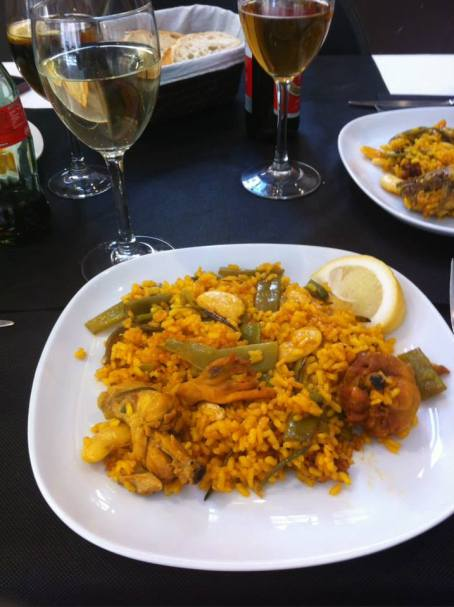 Authentic Paella Valenciana in Valencia!
