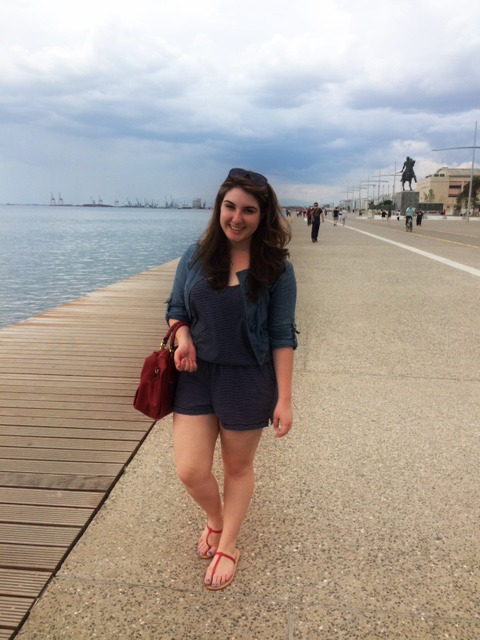 Strolling on the Paralia (waterfront)