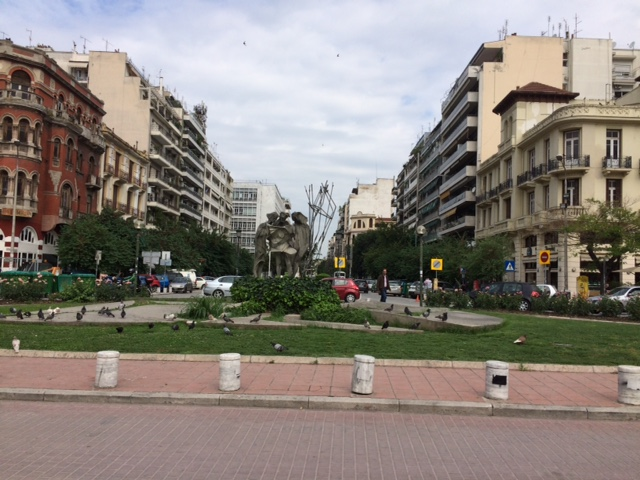 A view of Thessaloniki