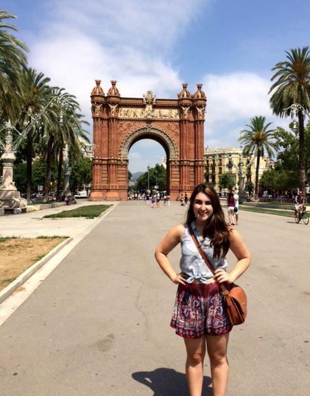 Arc de Triumf Barcelona Style