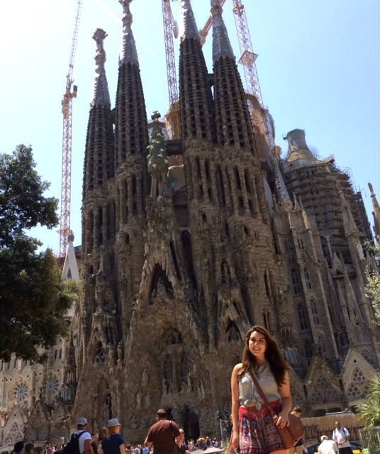 Did you even go to Barcelona if you did not get a picture of the Sagrada Familia?